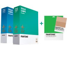 Pantone - SOLID CHIPS Coated & Uncoated For Limited Time Free D50 Lighting Indicator Stickers!