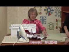 AGF Stitched Locket Quilt Pattern: Easy Quilting Tutorial with Kimberly Jolly of Fat Quarter Shop - YouTube