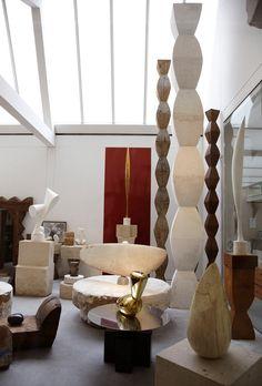 constantin brancusi - studio, paris