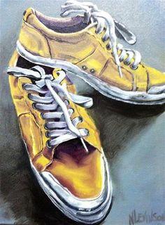 Original Fine Art By © Nancy Levinson in the DailyPaintworks.com Fine Art Gallery