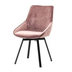 By-Boo Eetkamerstoel Velvet Beau Old Pink Velvet Armchair, Upholstered Arm Chair, Barbie Dream House, Dream Decor, Cool Kitchens, Upholstery, Dining Chairs, Sehun, Sweet Home