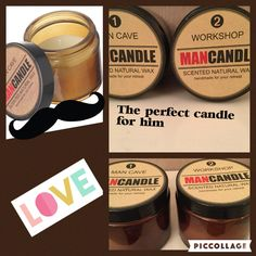 A personal favourite from my Etsy shop https://www.etsy.com/uk/listing/457624460/man-cave-candles