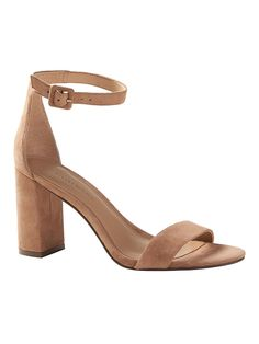 Accessorize in the chic high heels from Banana Republic. Discover a great selection of heels including classic platform pumps and ankle-strap pumps. Ankle Strap Heels, Ankle Straps, Women's Heels, High Heels With Jeans, Business Casual Attire, Nude Sandals, Block Heels, Me Too Shoes, Fashion Shoes