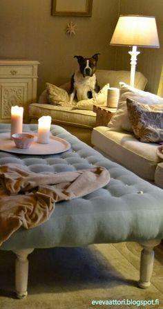 DIY rahi. Ainoastaan ostettu päälikangas 20 €. Table, Diy, Furniture, Home Decor, Decoration Home, Bricolage, Room Decor, Tables, Do It Yourself