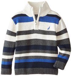 Mens Winter Sweaters, Boys Sweaters, Men Sweater, Baby Boy Knitting Patterns, Knitting For Kids, Baby Knitting, Little Boy Outfits, Baby Winter, Diy Clothes