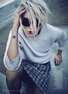 """Dreaming of Dior: """"Boss Tweed"""" Erika Linder for Marie Claire US September 2015"""