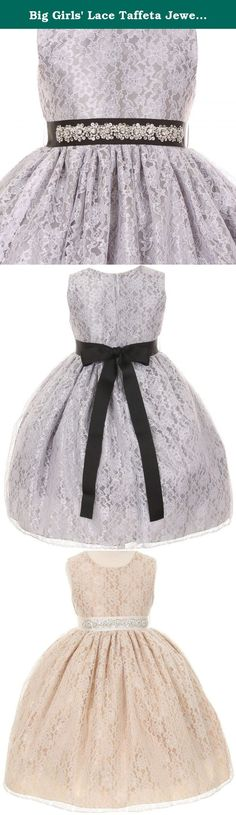 White with Black Velvet Special Occasion Dress w/ Removable Red ...