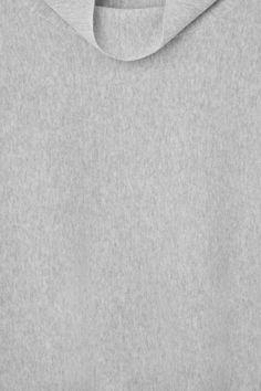 High-neck A-line knit jumper 100% algodão - usaram um tricozinho.