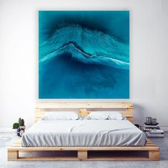"""367 Likes, 10 Comments - Art & Awareness (@martinesart) on Instagram: """"Reef Break to start the weekend. Add that Window to the Sea to your room 140cm x 140cm. Showing at…"""""""