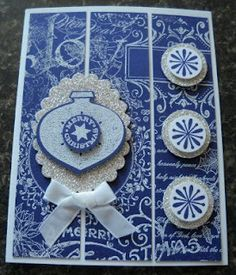 Delightful Decorations Christmas Card - Stampin' Up!