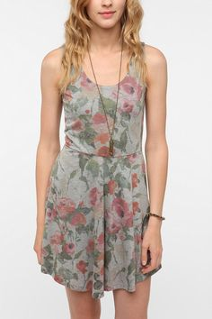 Pins And Needles Floral Circle Dress  #UrbanOutfitters