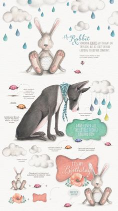 Magical Watercolor graphics Volume 2 by super illustrator Lisa Glanz