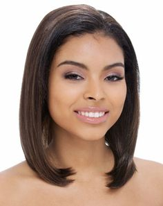 Half wig easy aron by janet collection Synthetic Hair Extensions 92ad71370a