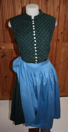AKD7  @ vintage Dirndl @ 1960 @ Real German Dress @ Trachten @ size 16 - 18