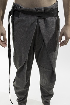 The cut on this trouser is very complex.  Love the Shape...