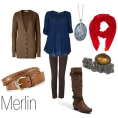 Merlin inspired outfit from BBC 's Merlin