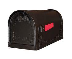 Special Lite Fl Curbside Mailbox Scf 1003 Blk Post Box Mail