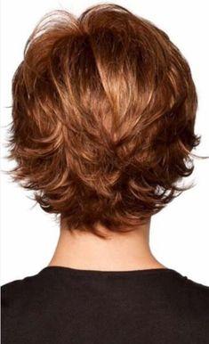 Thin Hair Cuts layer cut for thin curly hair Thin Hair Cuts, Short Hair With Layers, Short Hair Cuts For Women, Short Cuts, Shaggy Short Hair Cuts, Short Hairstyles For Thick Hair, Summer Hairstyles, Curly Hair Styles, Wedge Hairstyles