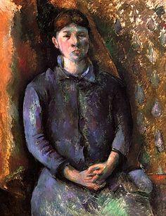 Madame Cézanne, Paul Cézanne.