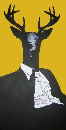 Lech Bator.com - artysta grafik - Smoker