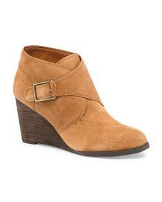 Leather Sumarah Booties - Boots & Booties - T.J.Maxx