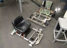 ChibiKart: Un Gokart eléctrico casero del MIT - BricoGeek.com