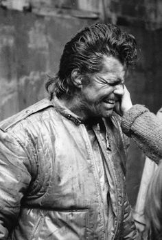 """Getting dirt put on my face on set of movie """"Bums"""""""