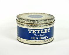 vintage tea canister.