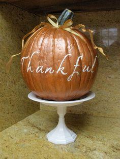 The V Spot: Crappy stuff, made pretty. Crafts To Do, Fall Crafts, Decor Crafts, Holiday Crafts, Holiday Ideas, Dollar Tree Plates, Dollar Tree Crafts, Fake Pumpkins, Glitter Pumpkins