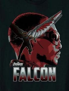 [#Cine] AVENGERS: INFINITY WAR Tenemos pósters para cada uno de los protagonista de la película #AvengersInfinityWar . #NeerksTV  #Avengers #Falcon