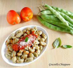 Gnocchi+di+fagiolini+|+Ricetta+senza+uova+e+senza+patate