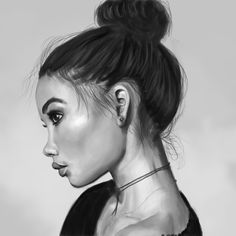 Black & White  Ashley Moore, Valentina Reale on ArtStation at https://www.artstation.com/artwork/yBBex