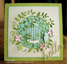 Memory Box Jasper Leaves card... by stampit74 - Cards and Paper Crafts at Splitcoaststampers