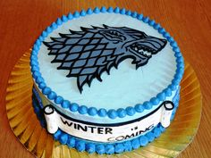 Tarta Juego de tronos :) Game of thrones cake - For all your cake decorating supplies, please visit craftcompany.co.uk