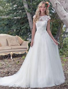 Bridesire - Mode de bal Col en cœur Sans manches Robes de Mariage [158534] - €213.55 : Bridesire