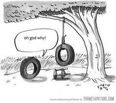 Tire Swing…
