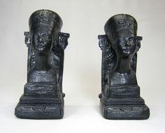 Nefertiti bookends