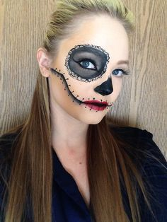 My Day of the Dead make up.
