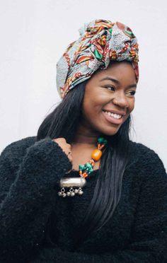 Hair wrap guinea model fanta kaba photographer karlton chambers peacock print african wrap ok kent ankara doek duku ccuart Images
