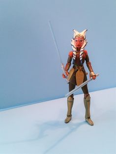 "Star Wars: Customs for the Kid: CUSTOMIZER SPOTLIGHT UPDATE: ""Star Wars Rebels - Ahsoka Tano"" custom articulated action figure created by SWK KUSTOMS"