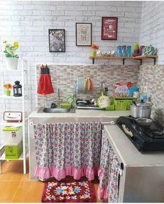 Kitchen Room Design, Home Room Design, Home Decor Kitchen, Shabby Chic Kitchen, Shabby Chic Decor, Indian Home Decor, House Rooms, Living Room Decor, Dining Room