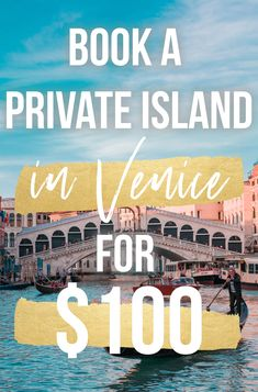 Ever wanted to stay on your own private island? Forgo the usual luxury hotel to stay at this private island equipped with a 16-person farmhouse near Venice, Italy, for as low as $100/night. Read the whole story by clicking here! where to stay in venice, the best luxury hotels in italy, unique places to stay in Europe, PINTEREST: @tripscout