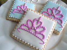 Tiara cookies - Bambella cookies