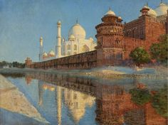Russian Art, Color Harmony, Art Institute Of Chicago, India Travel, Taj Mahal, Wonderful Places, American Art, Impressionist, The Darkest