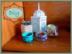 Diy: tres formas de reciclaje de tarros de vidrio