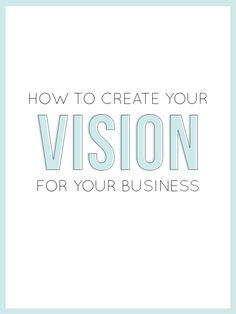 Need to create some focus in your professional life? Alisha has some fantastic tips and tricks in her new post: How To Create Your Vision For Your Business --