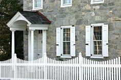 Picket fence, Downingtown, Pa.