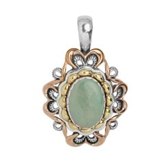 Carolyn Pollack Jewelry | Green Turquoise Sincere Radiance Pendant Enhancer