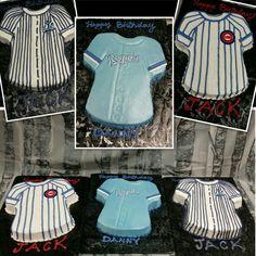 Buttercream #baseball jersey  #sweetartscreations #cake #royals #yankees #cubs @ambersweetarts www.facebook.com/sweetartscreationsllc