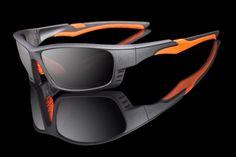 "Mens Premium Sport Sunglasses ""Firehawk"" ANSI Z87"